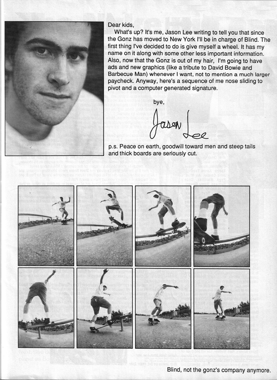 Jason Lee Skateboardin...